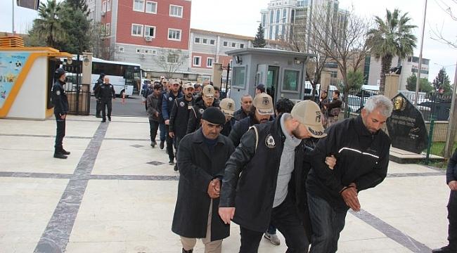 Gözaltına alınan 23 kişi serbest bırakıldı