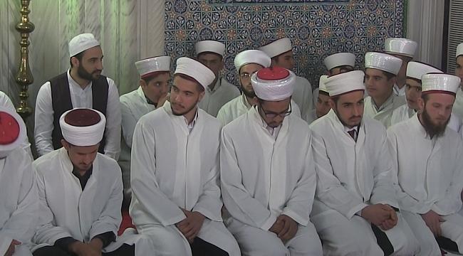Hafızlık icazet merasimi Dergah camiinde gerçekleşti.(Video)