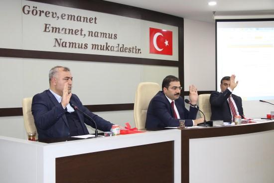 Haliliye belediye meclisi ilk toplantısını gerçekleştirdi