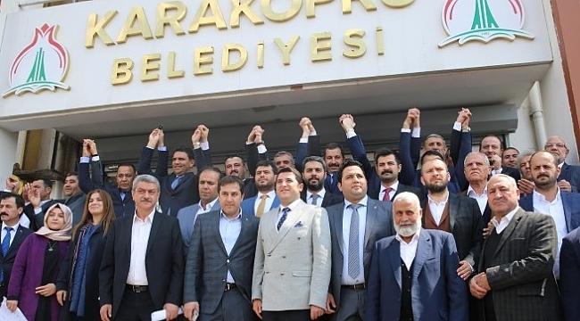 Karaköprü Belediye Başkanı Baydilli mazbatası aldı