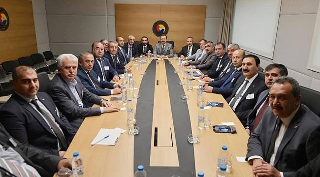 Kaya, Türkiye-AB İş Dünyası toplantısına katıldı.