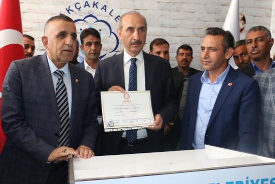 Mehmet Yalçınkaya, göreve başladı (video)