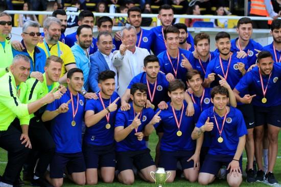 Menemenspor'da şampiyonluk coşkusu