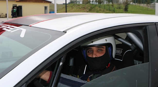Motor sporu yarışına yoğun ilgi(Video)