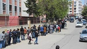 Şanlıurfa'da 2 bin kişilik işi duyanlar İŞKUR'a koştu