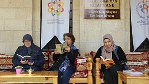 Şanlıurfa'da kitap okuyan aç kalmıyor