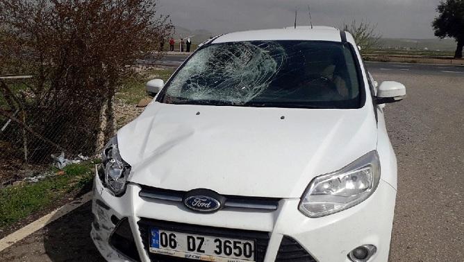 Şanlıurfa'da trafik kazası: 2 kişi ağır yaralandı