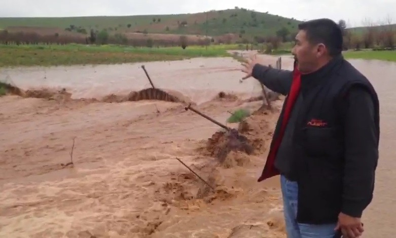 Şanlıurfa'da yağışlar sele neden oldu