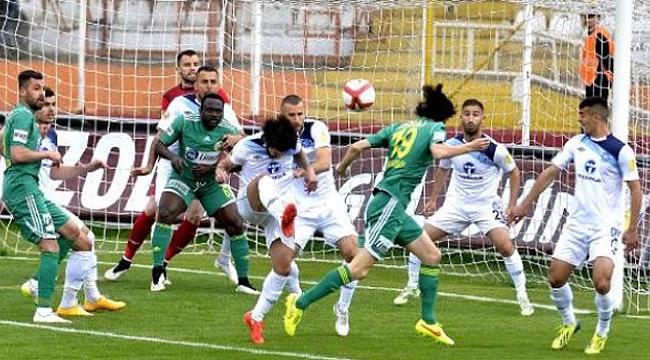 Şanlıurfaspor kendi sahasında Tokat'a mağlup oldu