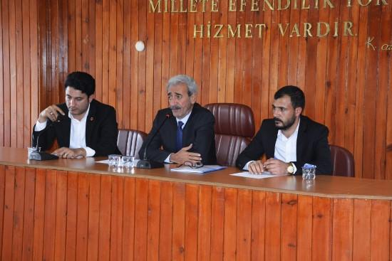 Siverek'te ilk belediye meclis toplantısı yapıldı