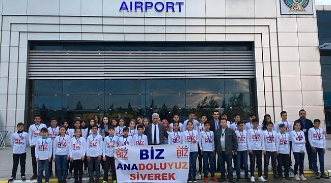 Siverekli Öğrencilere İstanbul ve Trabzon gezisi(Video)