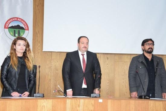 Viranşehir belediyesinde ilk meclis toplantısı yapıldı
