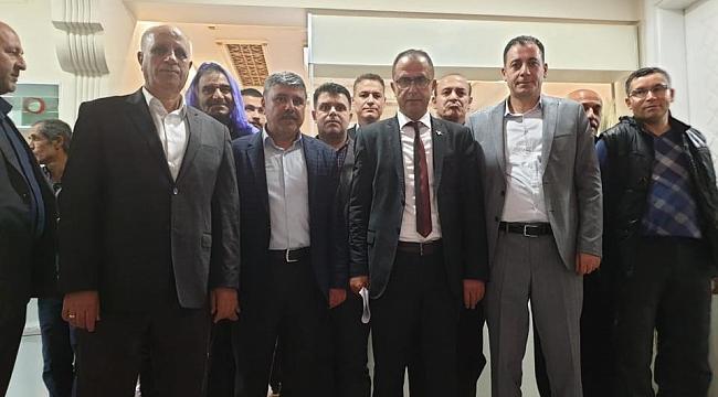 Yabir 'den Ceylanpınar Belediyesine ziyaret