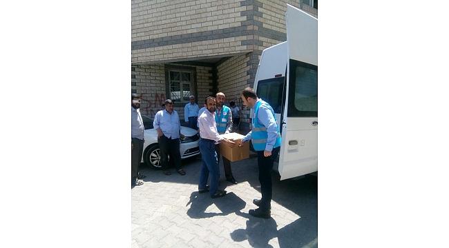 Diyanet Vakfından Urfa'da 100 aileye gıda yardımı