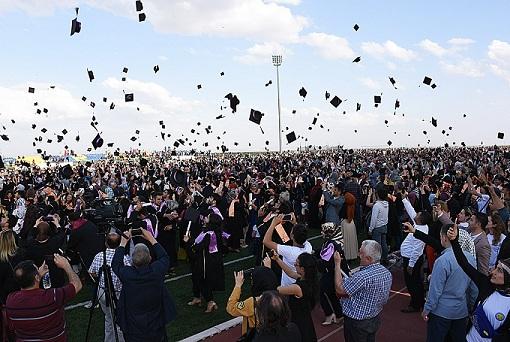 Harran Üniversitesi'nde Mezuniyet Töreni Yapıldı
