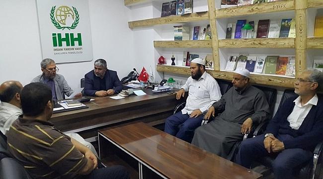 İdlip göçmenlerine destek