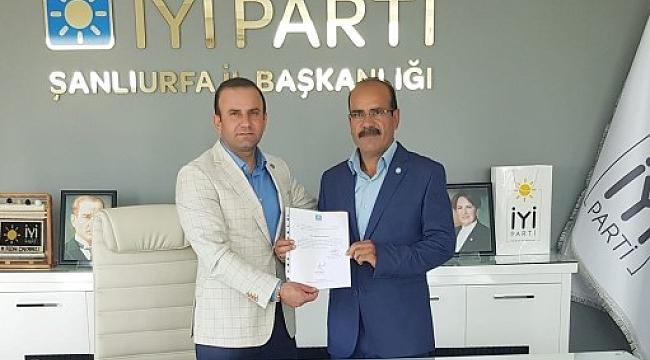 İyi Parti Bozova ilçe Başkanlığına Karabulut getirildi.
