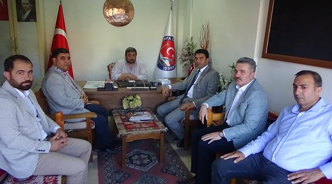 Karaköprü AK Parti'den Güler'e ziyaret