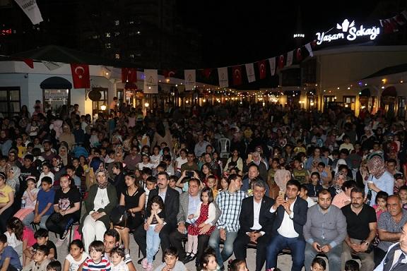 Karaköprü'de ramazan etkinliklerine yoğun ilgi