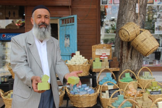 Şanlıurfa'da eşek sütünden sabuna büyük ilgi