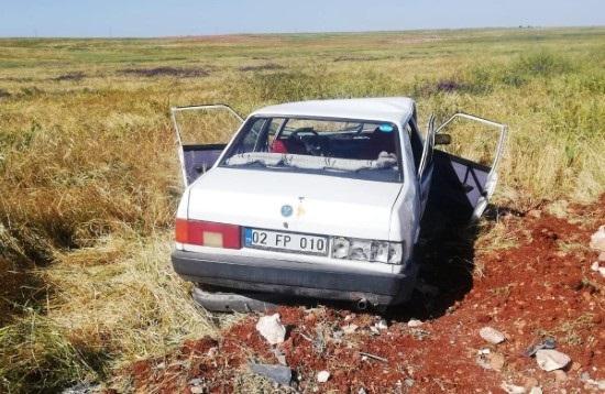 Şanlıurfa'da otomobil devrildi: 7 yaralı