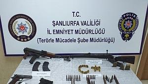 Şanlıurfa Polisinden terör örgütlerine darbe