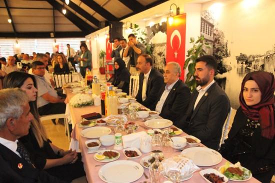 Şehit ve gazi aileleri iftar programında buluştu