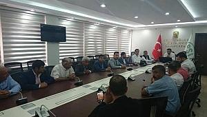 Suruç'lu 25 Muhtar'dan DSİ'ye ziyaret