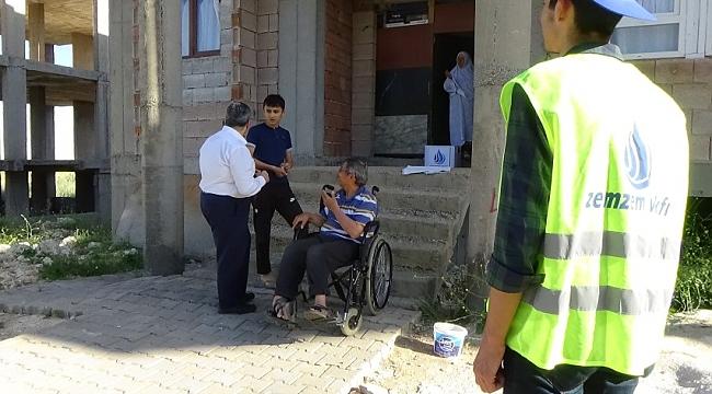 Engellilerin engelini kaldırmaya çalışıyoruz