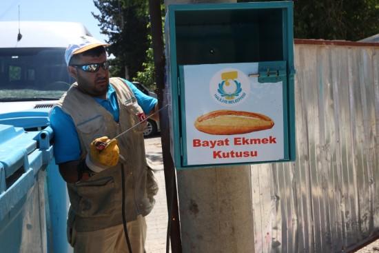 Haliliye belediyesi, ekmek israfını önlüyor