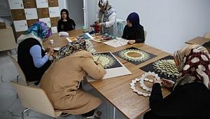 Haliliye belediyesinde sabır ve emek sanata dönüşüyor