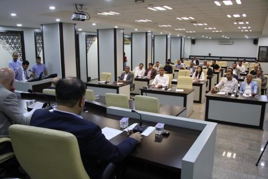 Haliliye meclisi haziran ayı 1. birleşimi gerçekleştirildi