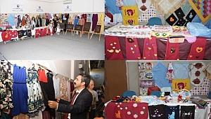 Hilvan'da yıl sonu sergisi düzenlendi