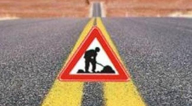 Şanlıurfa-Hilvan arasında yol yapım çalışması
