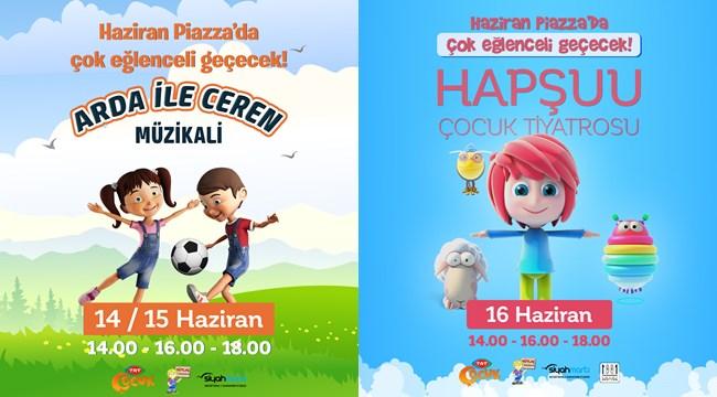 TRT Çocuk'un sevilen karakterleri Piazza'ya geliyor