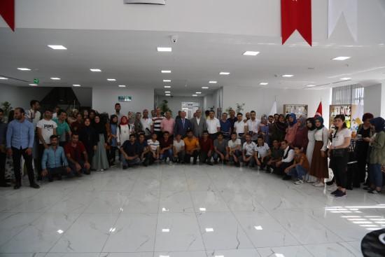 YKS öğrencilerine moral programı