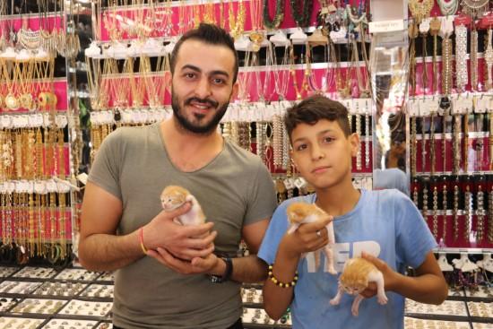 13 yaşındaki Mahmut hayvan sevgisi ile örnek oluyor