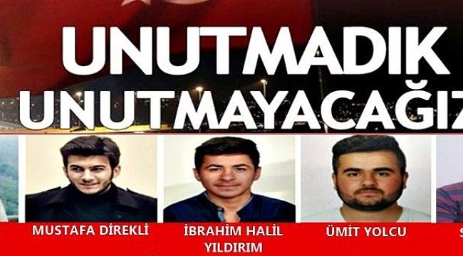 15 Temmuz Türk milletinin zaferidir