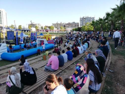 2.Avrupa spor festivali Şanlıurfa'da sona erdi