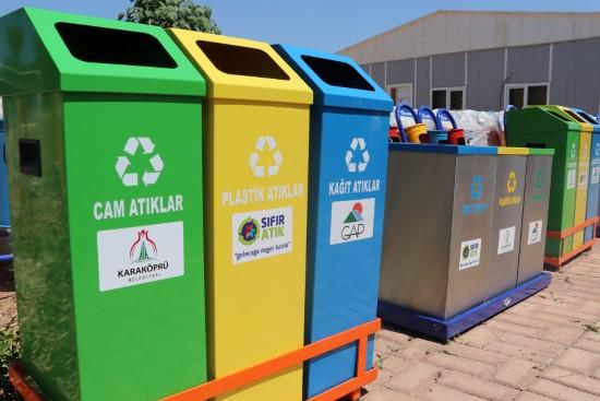3 bin ton geri dönüştürülebilir atık toplandı