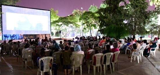 Büyükşehir'in yaz sineması etkinliği yoğun ilgi görüyor