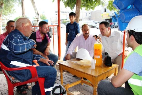 Dicle Elektrik Şanlıurfa'da muhtar ziyaretlerini sürdürüyor