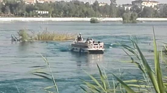Fırat Nehri'nde akıntıya kapılan şahıs kayboldu