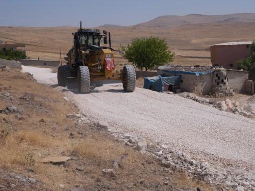Haliliye belediyesi kırsal çalışmalarına devam ediyor