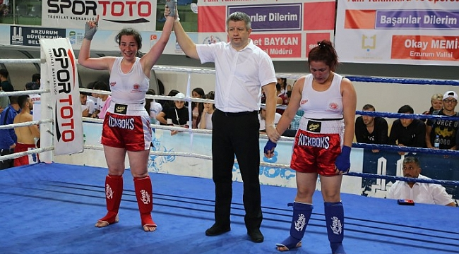 Haliliye'ye Kick Boks'ta 4 altın madalya (video)