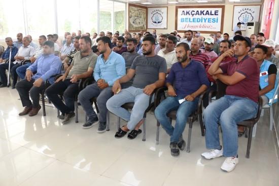 Mısırlı belediye personeli ile bir araya geldi