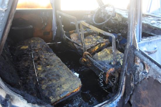 Otomobilde çıkan yangında 4 yaşındaki çocuk yaralandı