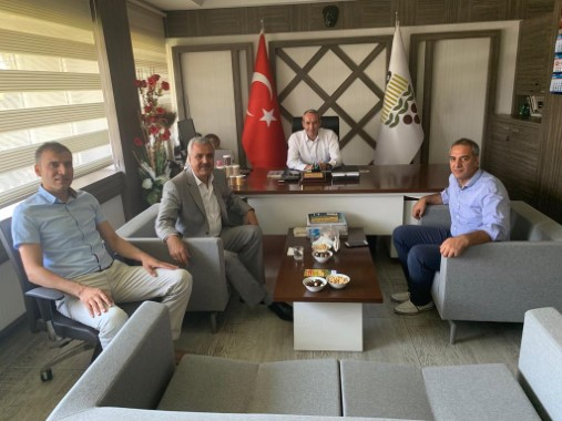 Peltek, Toprak Mahsulleri Ofisi'ni ziyaret etti