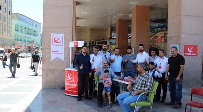 Refah Partisi stand açtı