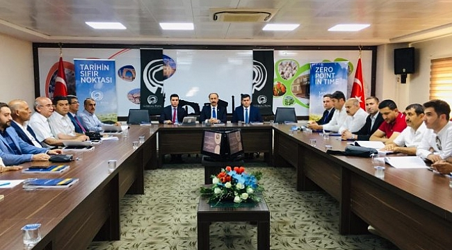 Şanlıurfa Turizm konseyi toplandı
